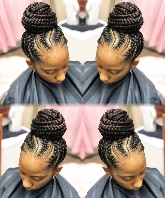 20 Most Trending Braided Hairstyles for Ladies (Shuku Hairstyles)