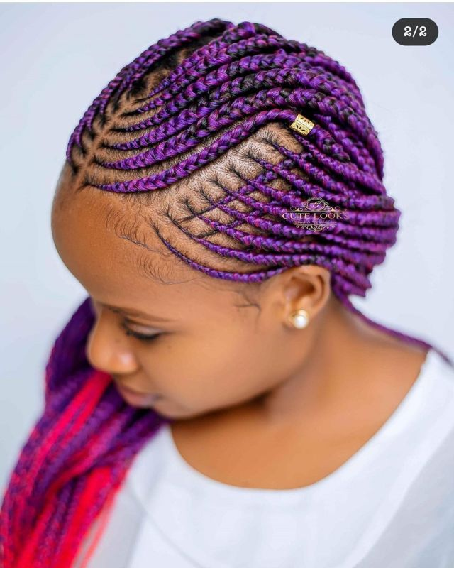 trending ghana braids hairstyles 5