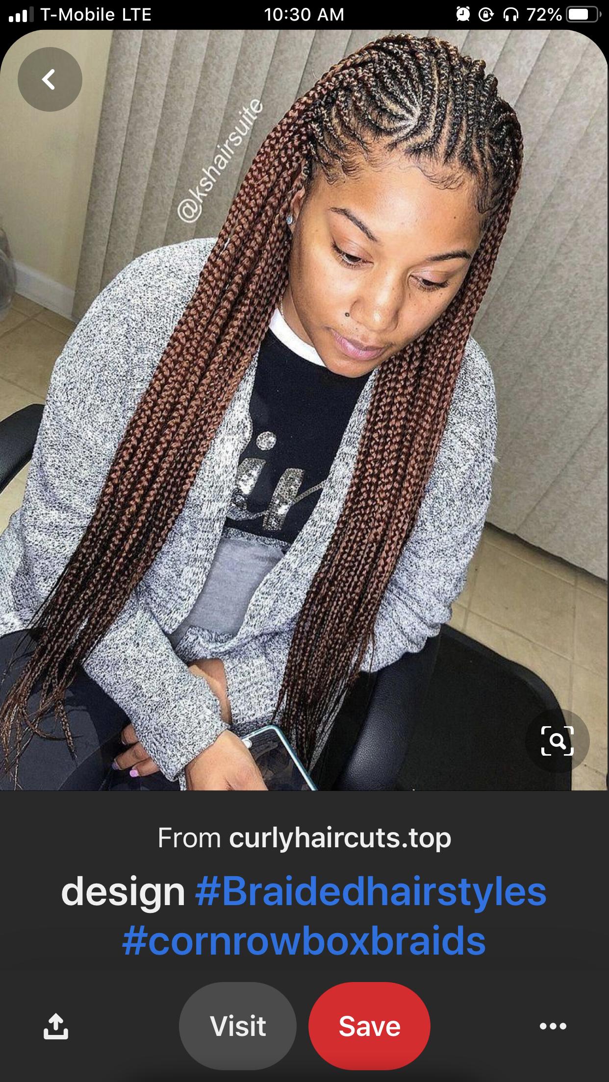 2021 Black Braided Hairstyles for Ladies: 45 Most Trendy Hairstyles