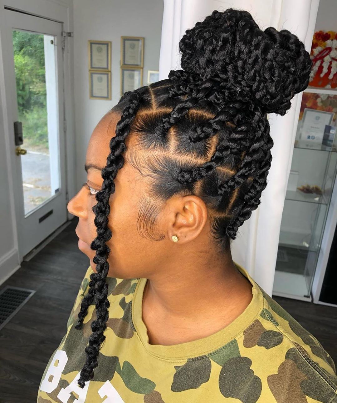 2021 Black Braided Hairstyles for Ladies: 45 Most Trendy Hairstyles