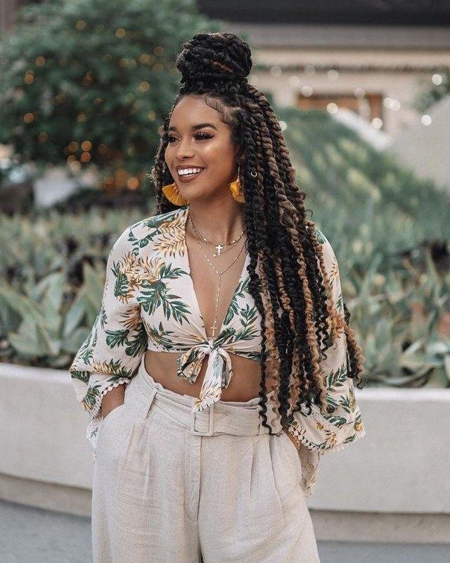 1599232996 216 Latest Braided Hairstyles Beautiful Twist Braids For Ladies 2020