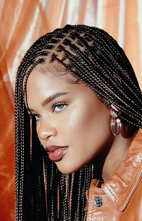 18 Braids Hairstyles that will Rock your World The Blessed Queens 3