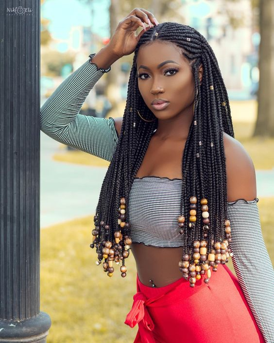 21 Stunning Photos Of The Fulani Braids Blac Chynas Exs Sister Recently Tried To Wear