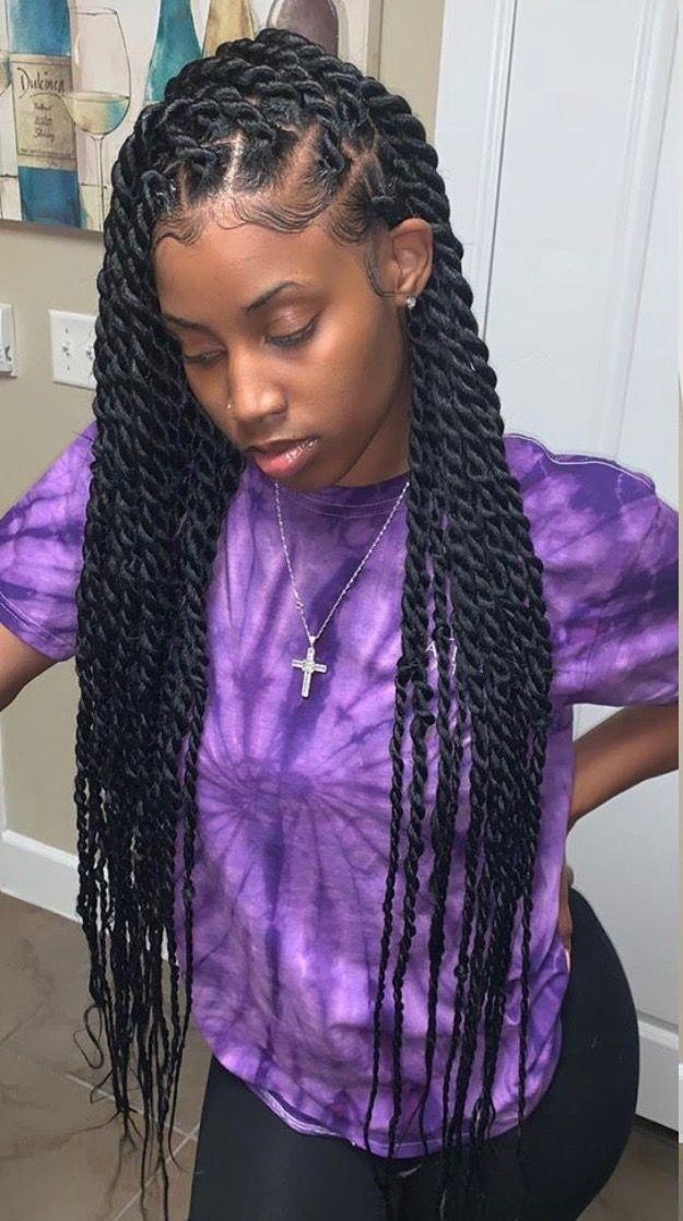 50 Stylish Braid Styles For Women In 2020   Best Black ...