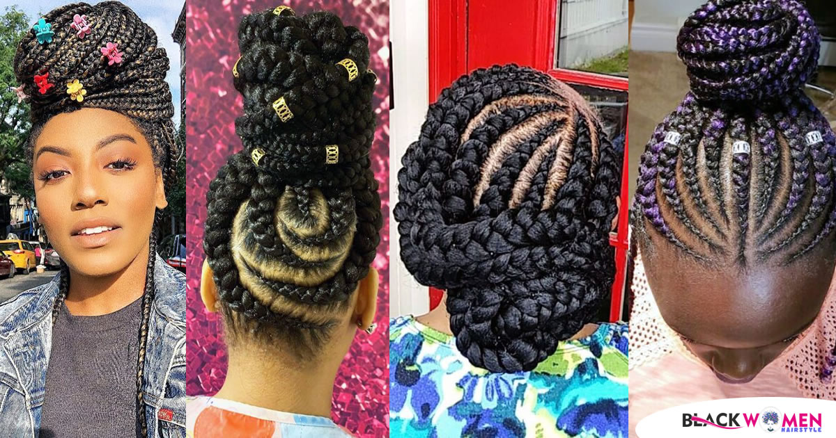 60 Braided Bun Hairstyles The Perfection Guide