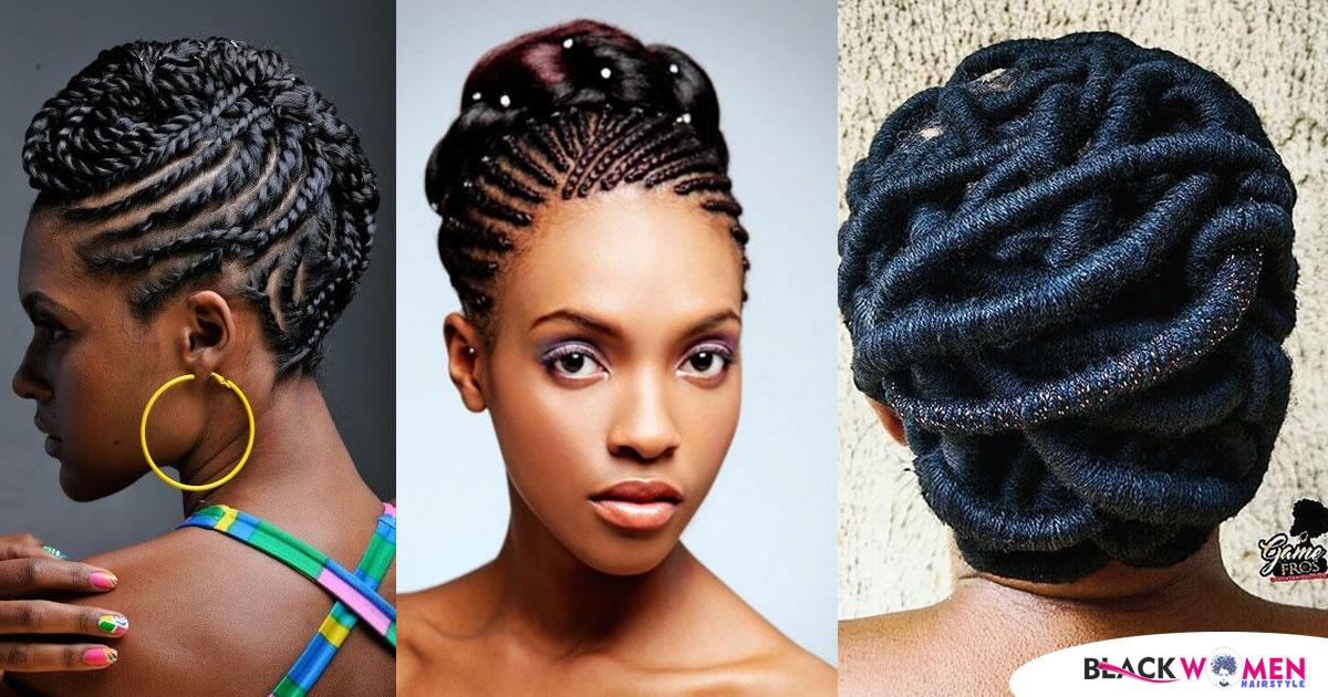 60 Ghana Braids Designs – Popular Trends In Black Braided Hairstyles