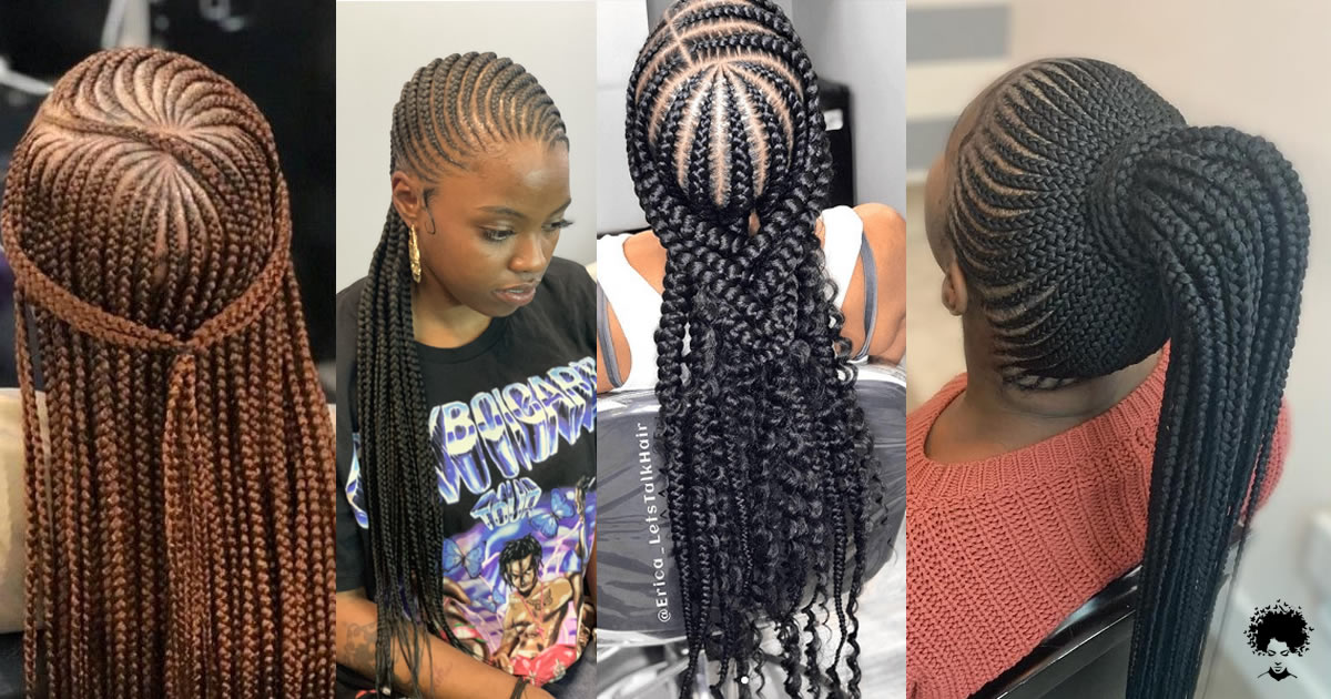 70 Lovely Ghana Weaving Styles   Add Vitality to Your Hair with Coconut and Clay