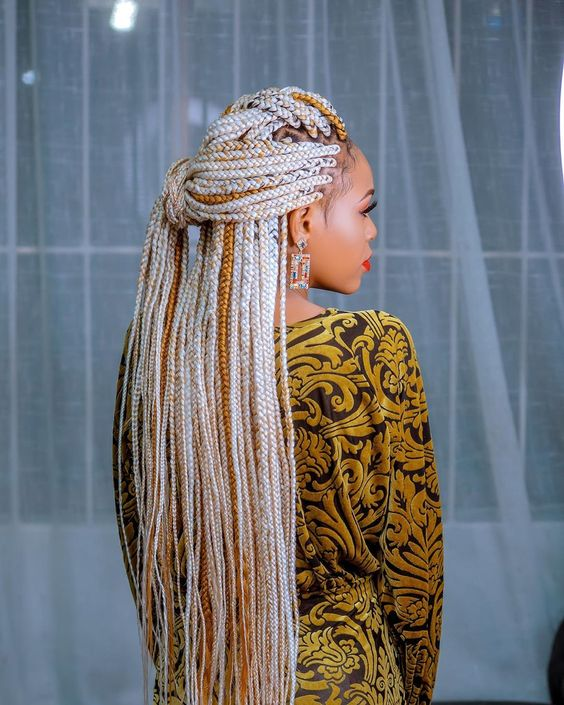 African Braids Hairstyles 2020 For Effortlessly Chic Ladies 11