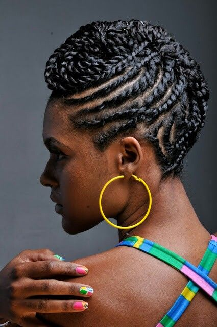Amazing African Hair Braids Styles – Popular trends in Black Braided Hairstyles tolugabriel com 21