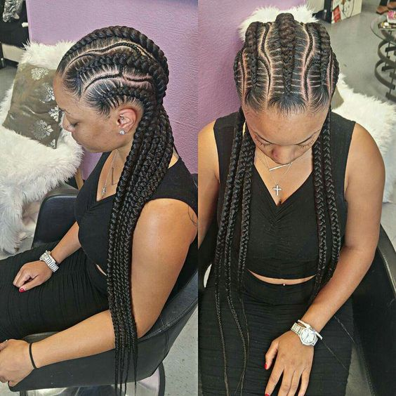 Amazing African Hair Braids Styles – Popular trends in Black Braided Hairstyles tolugabriel com 9
