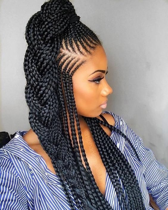 Best Braids Hairstyles Very Protective Get Your Edges Laid Hunnie 8