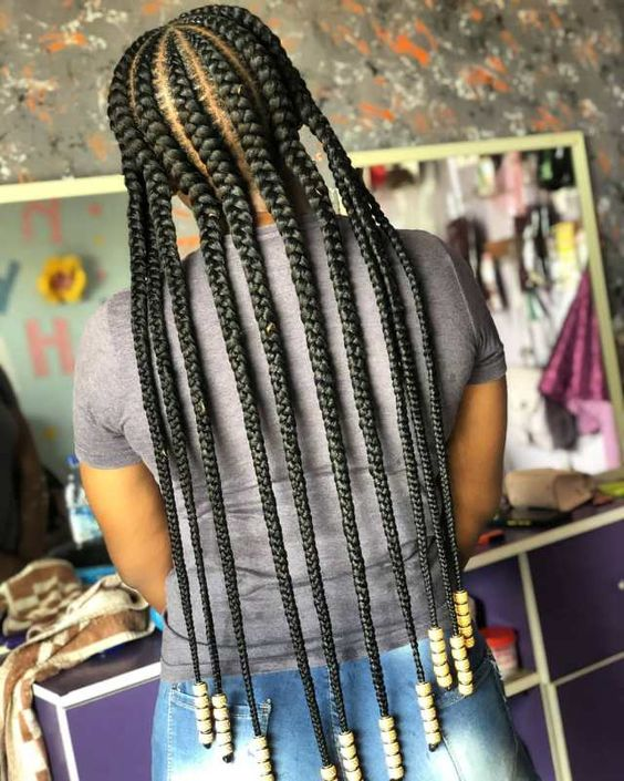Best Ghana Braid Hairstyles For 2020 Amazing Ghana Braids To Try out This Season
