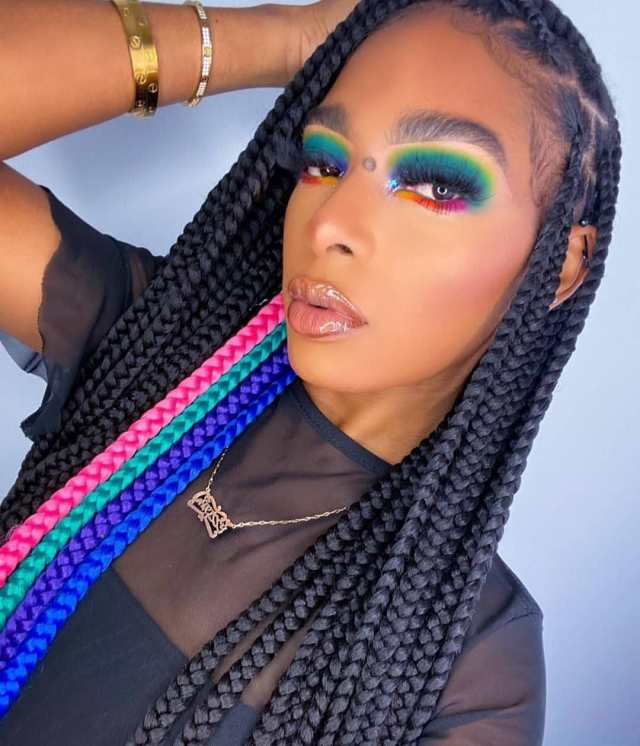 Black braided hairstyles 10