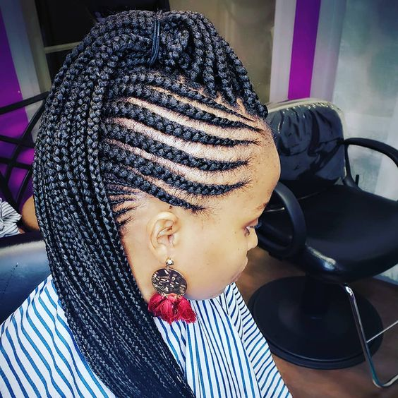 Braid Hairstyles With Weave 2020 Creative Styles to nspire You 5