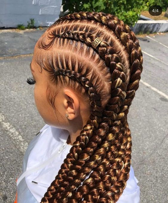 Braid Styles with Weave Trending Pictures of Braided Hairstyles with Weave 8