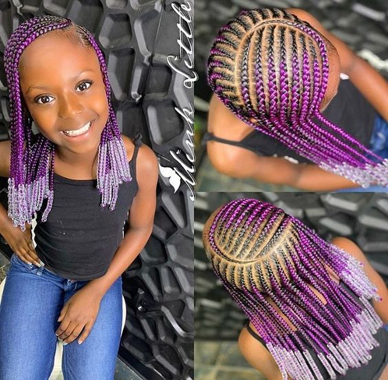 Braids Hairstyles For Baby Girls Your kids Will Definitely Appreciate t 2