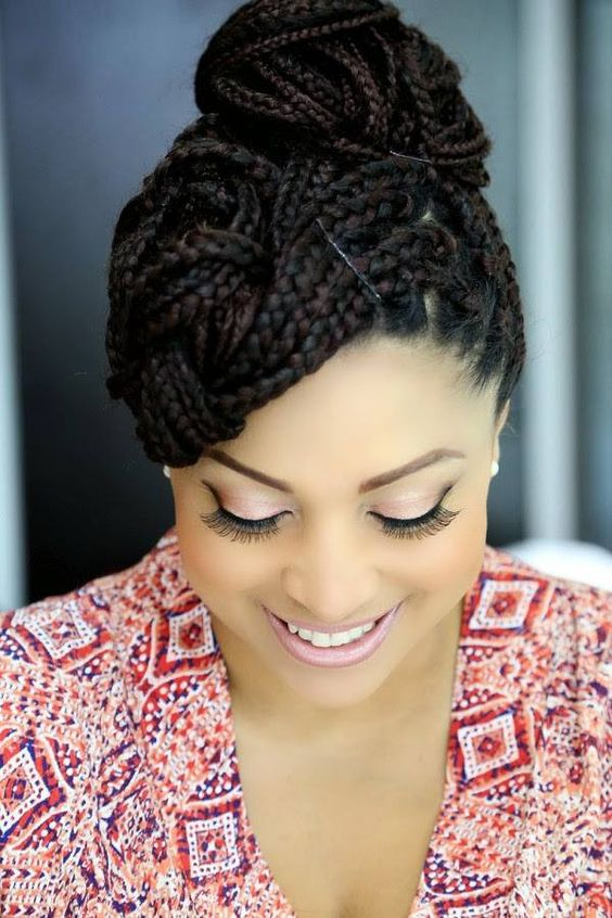 Classic Braided Hairstyles For African Ladies