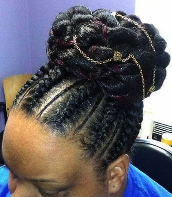Extended Bun Hairstyles