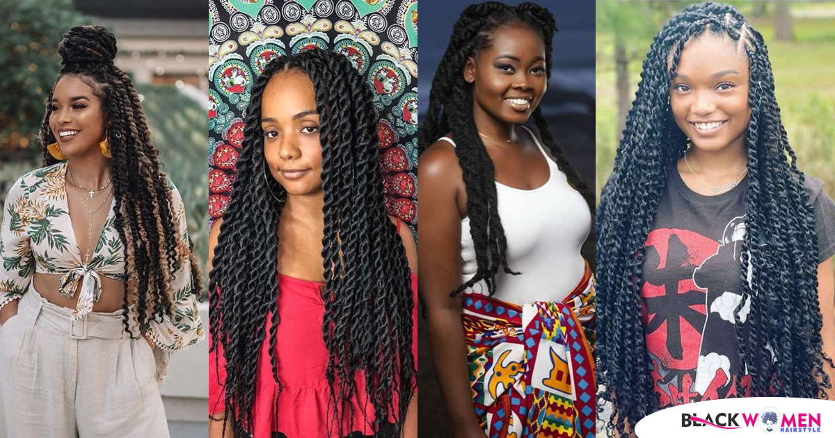 Fabulous Twisted Hairstyles – Perfect Twist Braids for the 2020 Ladies