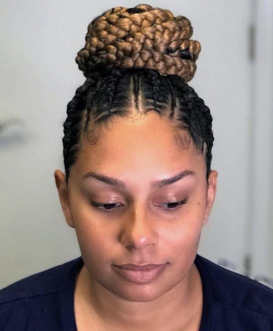 Glamorous Bun Hairstyles