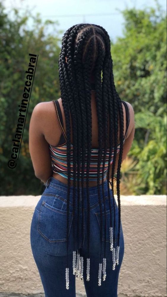 How to grow your hair with protective styles A drop of black 2