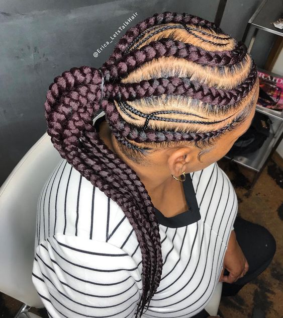 Latest African Braid Styles 2019 That Are Simply Spectacular 8