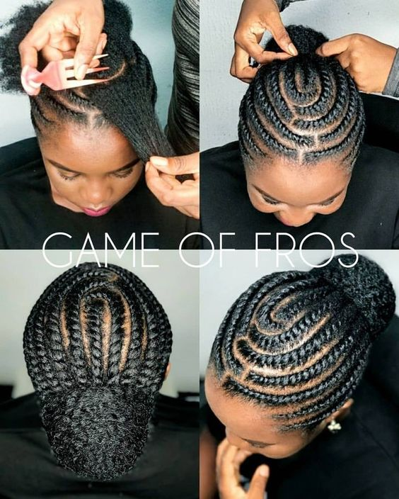 Latest African Braided Hairstyles For Black Women Fashion Ruk