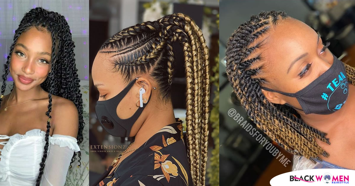 Latest Black Braided Hairstyles 2020: Gorgeous Braided Hairstyles to Try