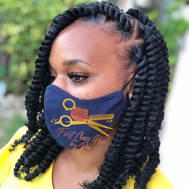 Latest Braided Hairstyles Beautiful Twist Braids For Ladies 2020
