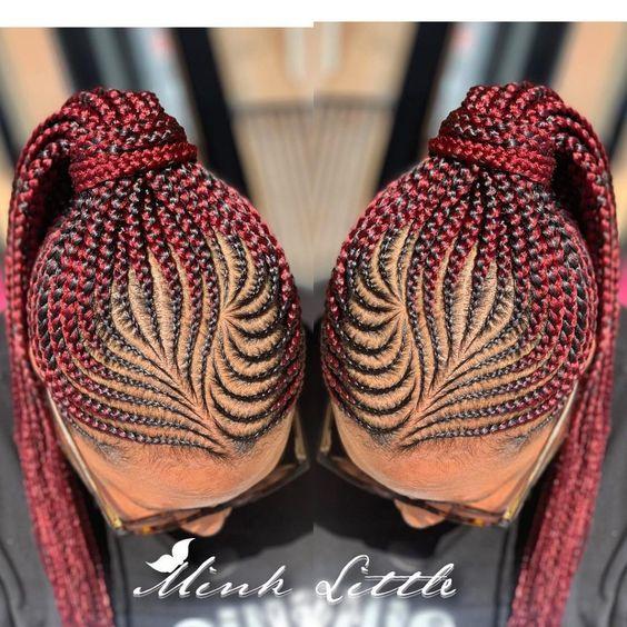Latest Ghana Weaving Shuku Styles 2020 10