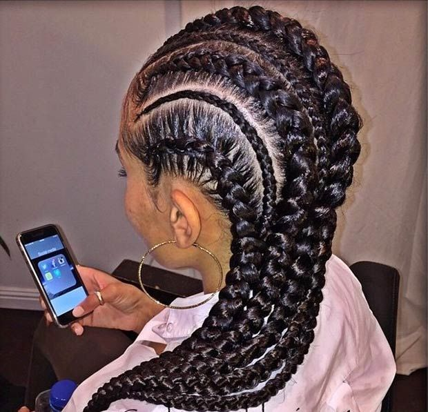 Latest Ghana Weaving hairstyleforblackwomen.net 42