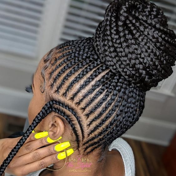 Latest Ghana Weaving hairstyleforblackwomen.net 570