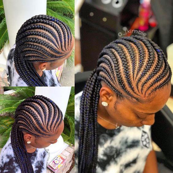 Latest Ghana Weaving hairstyleforblackwomen.net 654