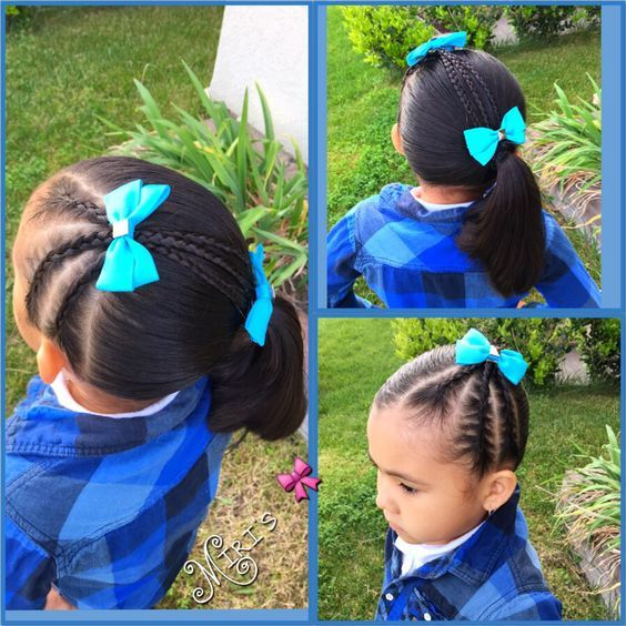 Natural Hairstyles for Kids lovely Collection for Your Baby 4