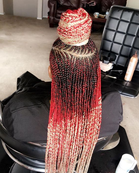 New 2020 Braided Hairstyles Choose Your Favourite Braids Colour 10