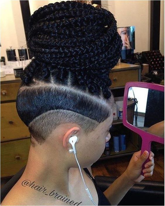 Pleasurable Hairstyles With Matter Braids You Can Try 2