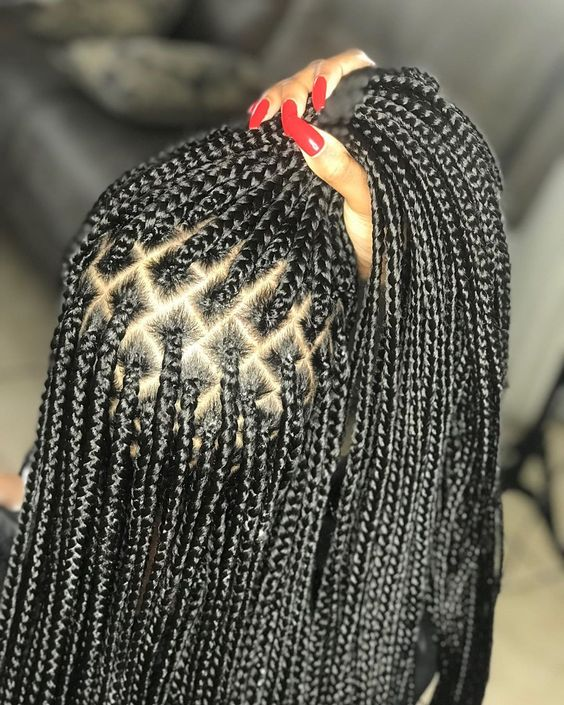 Quanas nstagram profile post are a LADYs BESTFREND June will be available Monday knotlessbraids naturalhair lemonadebraids tribalbraids