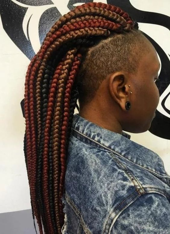 Top 15 big braids hairstyles for you to rock in 2019 7
