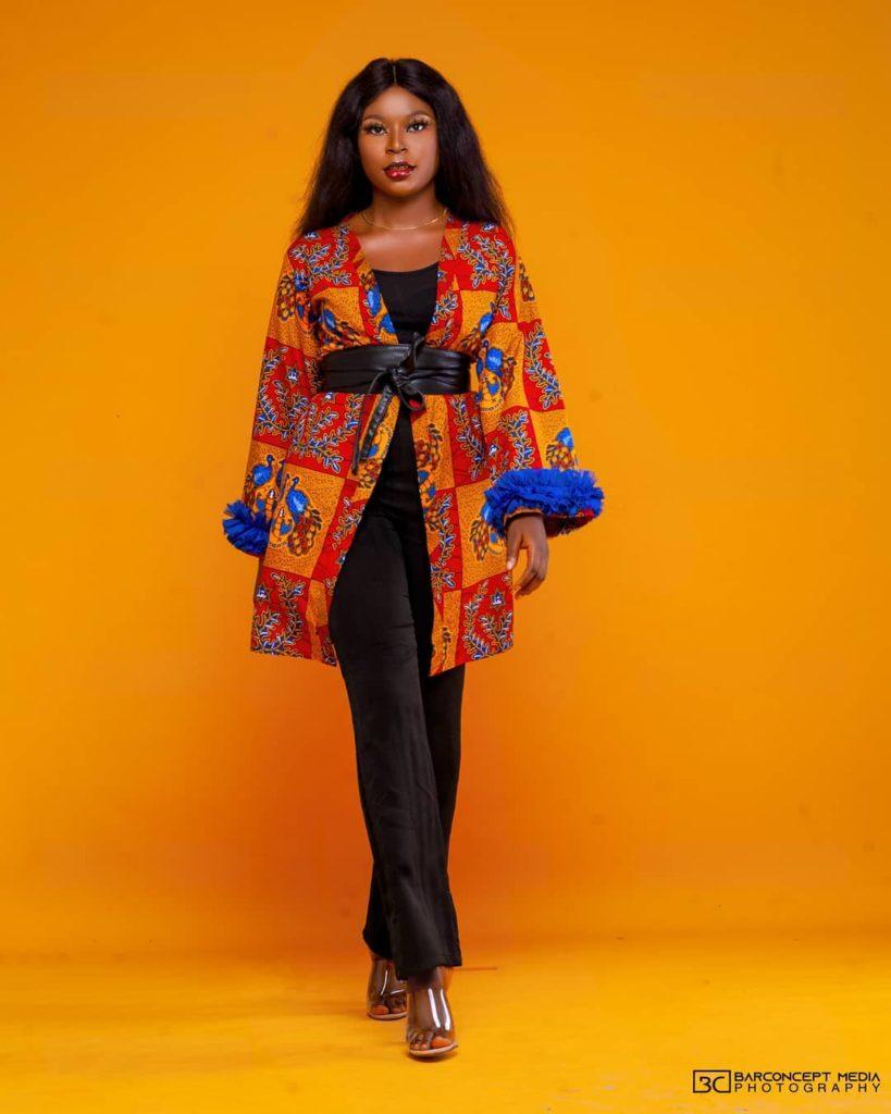 Trending Fashionable and Fabulous Ankara Kimono Jacket Styles for Ladies 20200A 819x1024 1