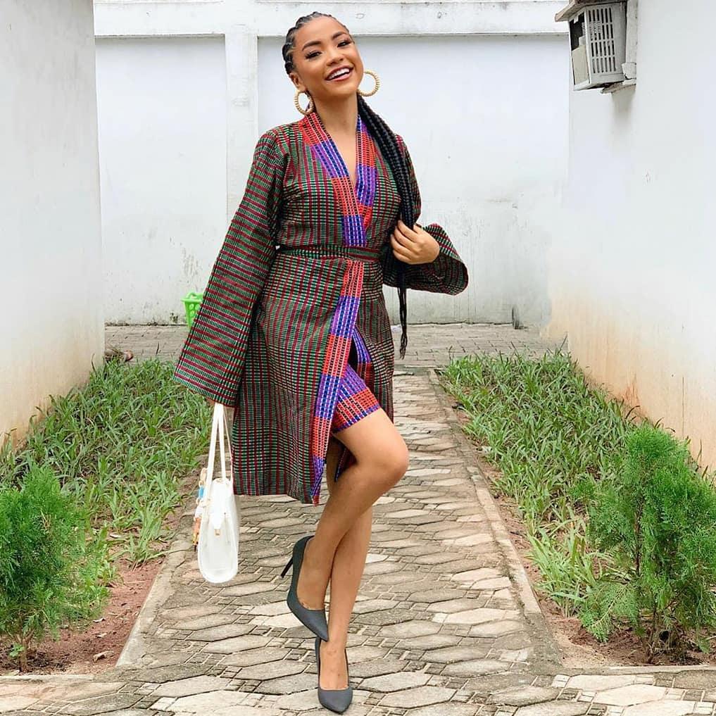 Trending Fashionable and Fabulous Ankara Kimono Jacket Styles for Ladies 20200A4