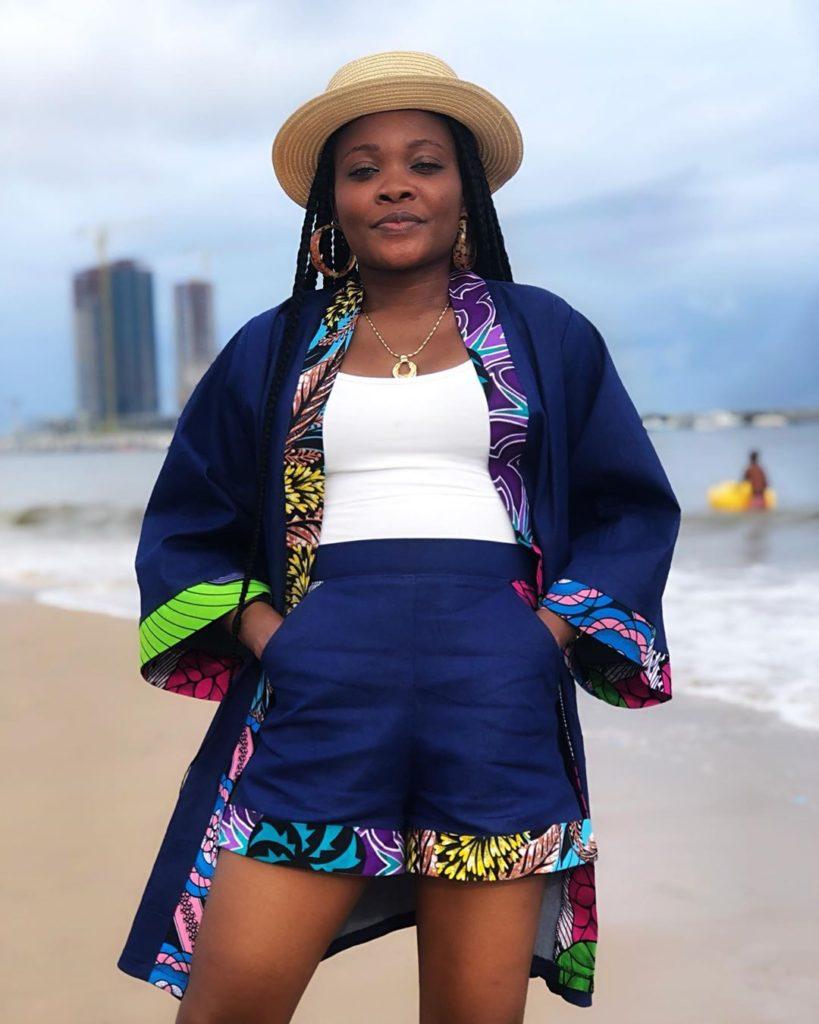 Trending Fashionable and Fabulous Ankara Kimono Jacket Styles for Ladies 20200A7 819x1024 1