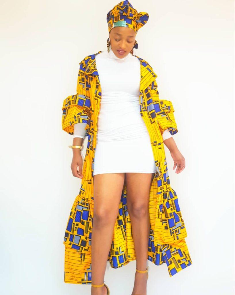 Trending Fashionable and Fabulous Ankara Kimono Jacket Styles for Ladies 20200A9 817x1024 1