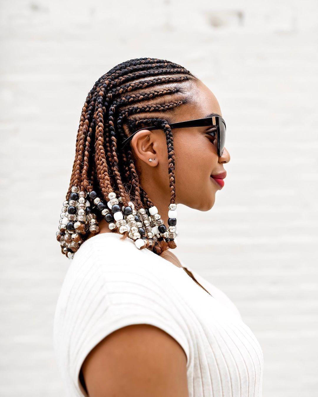 cornrow styles with beads ijeomakola