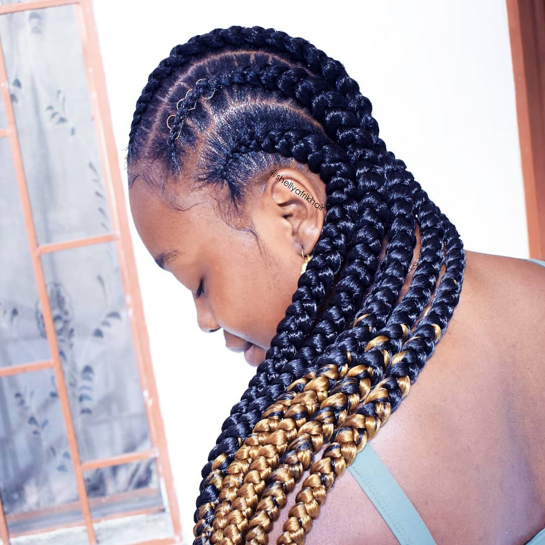 goddess braids styles 12