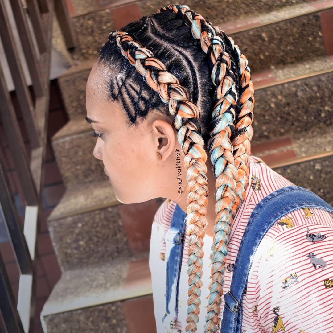 goddess braids styles 13