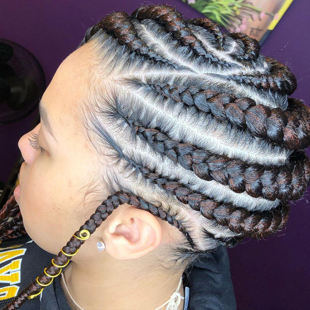 goddess braids styles 3