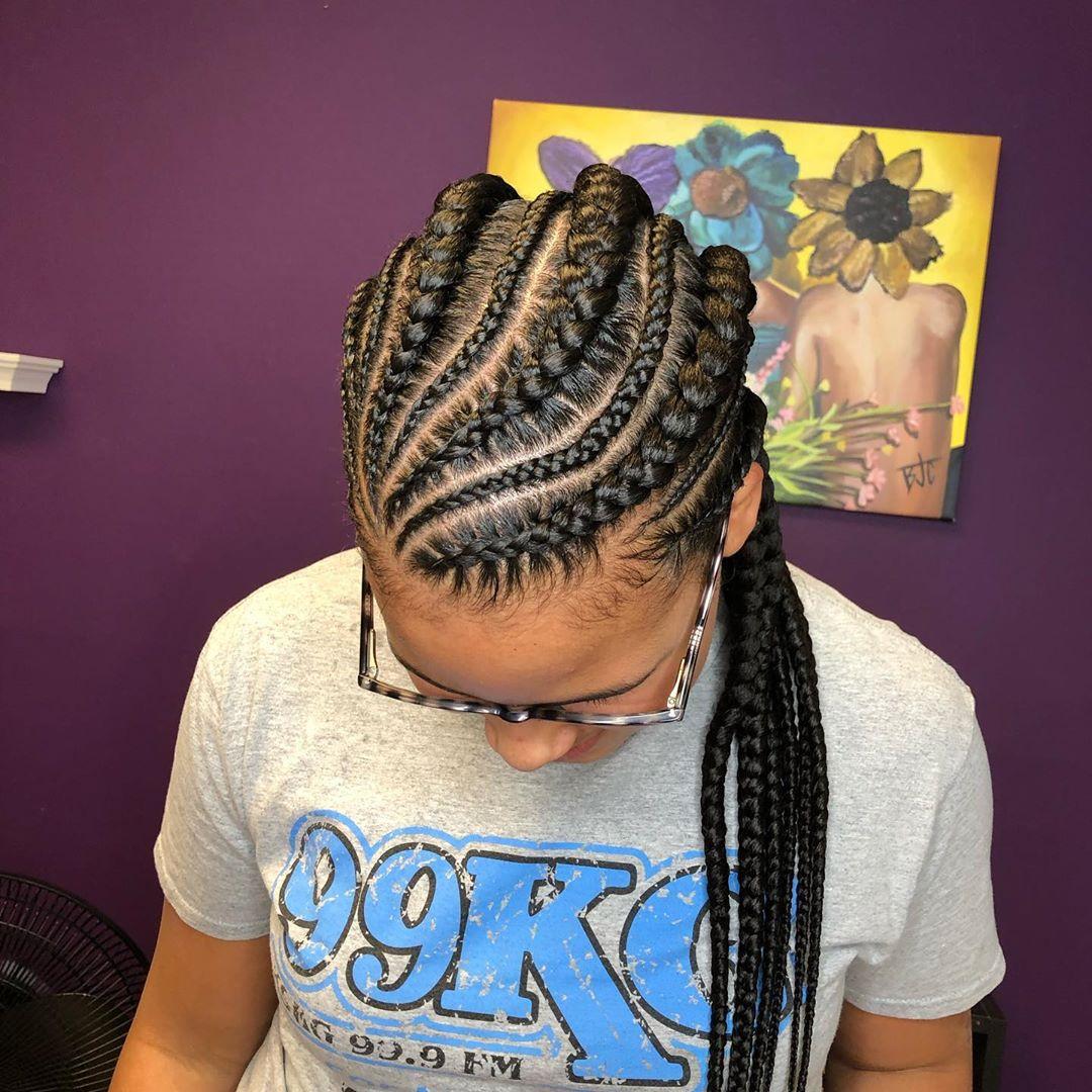 goddess braids styles 4