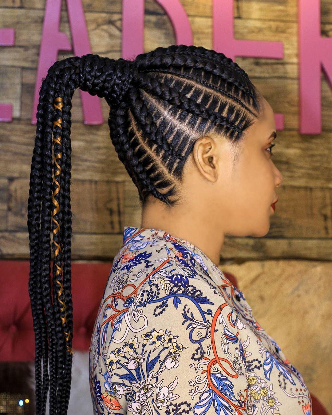 goddess braids styles 8