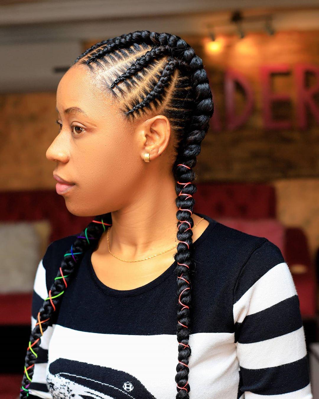 goddess braids styles 9