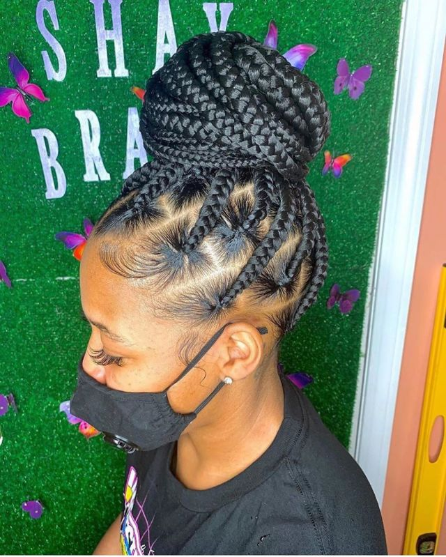 latest braided hairstyles 5